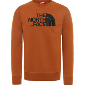 The North Face Drew Peak Crew T-shirt manches longues Homme, caramel cafe